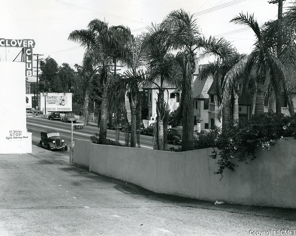 1936 Clover Club on Sunset Blvd.