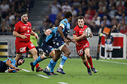 Toby Carter Arnold of Lyon during the French championship Top 14 Rugby Union semi-final match between Montpellier v Lyon OU on May 25, 2018 at Groupama stadium in Lyon, France - Photo Romain Biard / Isports / ProSportsImages / DPPI