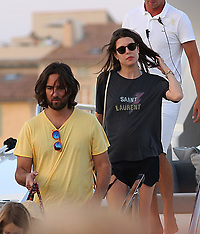 Charlotte Casiraghi spotted in St Tropez with fiance Dimitri - 23 July 2018