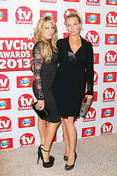 © Licensed to London News Pictures. 09/09/2013, UK.  Rita Simons; Samantha Womack, TV Choice Awards, The Dorchester Hotel, London UK, 09 September 2013 Photo credit : Richard Goldschmidt/Piqtured/LNP