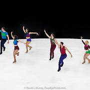 Ice Dance International performing Perpetual Motion, Choreographed by Douglas Webster, in Portland, ME, February 2020