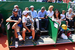 April 21, 2018 - Monte Carlo, FRANCE - Rafael Nadal (Esp) box with carlos Moya (Credit Image: © Panoramic via ZUMA Press)
