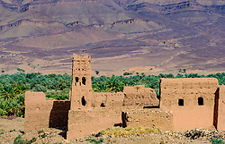 A ruined Kasbah near Zagora in southern Morocco<br /> <br /> (c) Andrew Wilson | Edinburgh Elite media