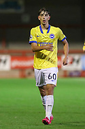 Brighton and Hove Albion midfielder Stefan Vukoje (60) portrait during the EFL Trophy Southern Group G match between AFC Wimbledon and Brighton and Hove Albion U21 at The People's Pension Stadium, Crawley, England on 22 September 2020.