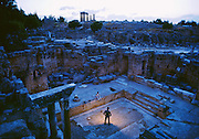 Theater at Epidaurus in Greece, was home to the shrine of Aclepius, God of Medicine. It was believed that Asclepius would appear before his patients in dreams and bring cures during sleep.
