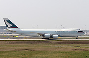 Cathay Pacific Boeing 747-8F Cargo at Milan - Malpensa (MXP / LIMC)