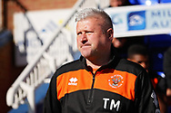 Blackpool Manager Terry McPhillips  before the EFL Sky Bet League 1 match between Peterborough United and Blackpool at The Abax Stadium, Peterborough, England on 29 September 2018.