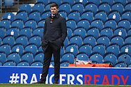 Is Steven Gerrard (Rangers) and Rangers Ready to win the league during the Scottish Premiership match between Rangers and Livingston at Ibrox, Glasgow, Scotland on 25 October 2020.