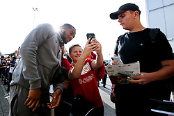 Kasey Palmer of Bristol City arrives at Pride Park for the Sky Bet Championship fixture against Derby County  - Mandatory by-line: Robbie Stephenson/JMP - 20/08/2019 - FOOTBALL - Pride Park Stadium - Derby, England - Derby County v Bristol City - Sky Bet Championship