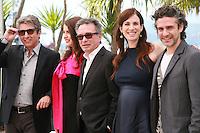 Ricardo Darin, Erica Rivas, Oscar Martinez, Maria Marull and Leonardo Sbaraglia at the photo call for the film Wild Tales (Relatos Salvajes) at the 67th Cannes Film Festival, Saturday 17th May 2014, Cannes, France.