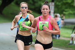 Freihofer's 5K Run For Women<br /> 40th year Allie Keiffer, pro runner with Oiselle, leading Jess Tonn, has captivated the running world after a surprising 5th place in the 2017 NYC marathon. Advocating for healthy body image, Keiffer competes at the highest level of American road-racing.
