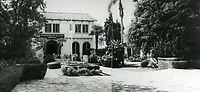 1954 Garden of Allah Hotel on Sunset Blvd. in West Hollywood