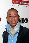 September 20, 2012- New York, New York:  Celebrity Sylist Delvon Johnson attends the 2012 Urbanworld Film Festival Opening night premiere screening of  ' Being Mary Jane ' presented by BET Networks held at AMC 34th Street on September 20, 2012 in New York City. The Urbanworld® Film Festival is the largest internationally competitive festival of its kind. The five-day festival includes narrative features, documentaries, and short films, as well as panel discussions, live staged screenplay readings, and the Urbanworld® Digital track focused on digital and social media. (Terrence Jennings)