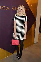 Singer LAUREL ARNELL-CULLEN at a party to celebrate the launch of the Monica Vinader London Flagship store at 71-72 Duke of York Square, London SW3 on 4th December 2014.