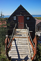 A fisherman's shack in the village of Blue Rocks, Nova Scotia.