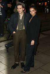 February 18, 2019 - London, United Kingdom - Brooklyn Beckham and Hana Cross attend the Fabulous Fund Fair as part of London Fashion Week event. (Credit Image: © Brett Cove/SOPA Images via ZUMA Wire)