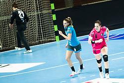 Gros Ana of Brest Bretagne during handball match between RK Krim Mercator and Brest Bretagne Handball in 2nd main round of Women's DELO EHF Champions League 2019/20, on February 2, 2020 in Kodeljevo, Ljubljana,  Slovenia. Photo Grega Valancic / Sportida