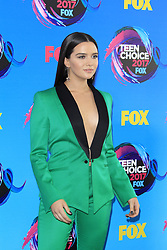 August 13, 2017 - Los Angeles, CA, USA - LOS ANGELES - AUG 13:  Katie Stevens at the Teen Choice Awards 2017 at the Galen Center on August 13, 2017 in Los Angeles, CA (Credit Image: © Kay Blake via ZUMA Wire)