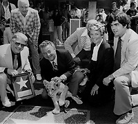 1977 Bill Burrad's Walk of Fame ceremony
