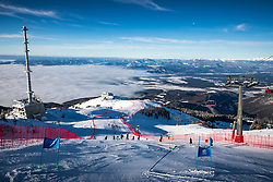 A general view of the course during giant slalom race at FIS European Cup Krvavec 2021, February 2, 2021 in Krvavec, Cerklje na Gorenjskem, Slovenia. Photo by Matic Klansek Velej / Sportida