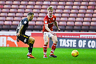 Ben Williams of Barnsley (28) in action during the EFL Sky Bet League 1 match between Barnsley and Bradford City at Oakwell, Barnsley, England on 12 January 2019.