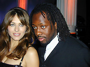 Elizabeth Hurley and Wyclef Jean<br />