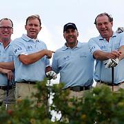 NLD/Noordwijk/20070818 - KLM Open Charity Challenge 2007, W.r Zick, t. Rietveld, van Nierop en Theo Nabuurs