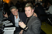 NIKKI BELL AND WAYNE BURGESS, Wallpaper Design Awards. Old Post Sorting Office. New Oxford St. London. 9 January 2008. -DO NOT ARCHIVE-© Copyright Photograph by Dafydd Jones. 248 Clapham Rd. London SW9 0PZ. Tel 0207 820 0771. www.dafjones.com.