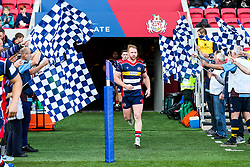 Will Hurrell of Bristol Rugby runs out - Rogan/JMP - 22/10/2017 - RUGBY UNION - Ashton Gate Stadium - Bristol, England - Bristol Rugby v Doncaster Knights - B&I Cup.
