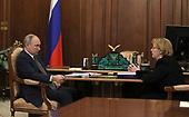 March 01, 2021 (RUS): President Vladimir Putin Meets With Head Of FMBA Veronica Skvortsova