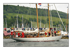 Day one of the Fife Regatta, Round Cumbraes Race.<br /> <br /> Astor, Richard Straman, USA, Schooner, Wm Fife 3rd, 1923<br /> <br /> * The William Fife designed Yachts return to the birthplace of these historic yachts, the Scotland's pre-eminent yacht designer and builder for the 4th Fife Regatta on the Clyde 28th June–5th July 2013<br /> <br /> More information is available on the website: www.fiferegatta.com