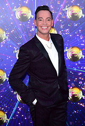 Craig Revel Horwood arriving at the red carpet launch of Strictly Come Dancing 2019, held at BBC TV Centre in London, UK.