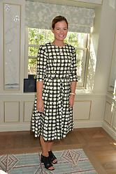 SERENA HOOD at a breakfast hosted by Halcyon Days at Fortnum & Mason, 181 Piccadilly, London on 8th July 2014.