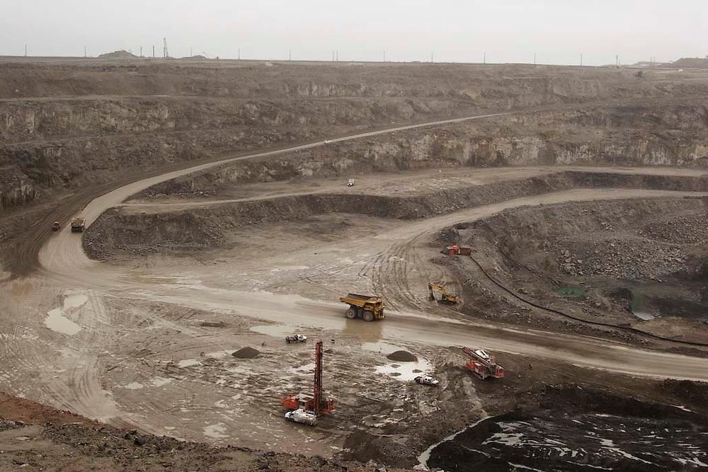 Diavik Diamonds mine in Northwest Territories, Canada