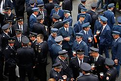 CZECH REPUBLIC VYSOCINA NEDVEZI 30JUL11 - CZECH REPUBLIC VYSOCINA NEDVEZI 30JUL11 - Voluntary firemen from neighbouring villages enjoy drinks during a gathering of fire crews in the village of Nedvezi, Vysocina, Czech Republic...This year marks the 120th anniversary of the voluntary firemen in Nedvezi, Vysocina, Czech Republic.....jre/Photo by Jiri Rezac....© Jiri Rezac 2011