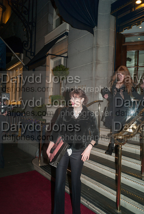 JASMINE GUINNESS;  CHARLOTTE TILBURY, Tatler magazine Jubilee party with Thomas Pink. The Ritz, Piccadilly. London. 2 May 2012