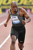 James DASAOLU GBR 100m B Race <br /> Roma 03-06-2016 Stadio Olimpico <br /> IAAF Diamond League Golden Gala <br /> Atletica Leggera<br /> Foto Andrea Staccioli / Insidefoto