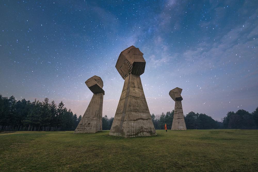 Memorial Park Bubanj at Nis, Serbia