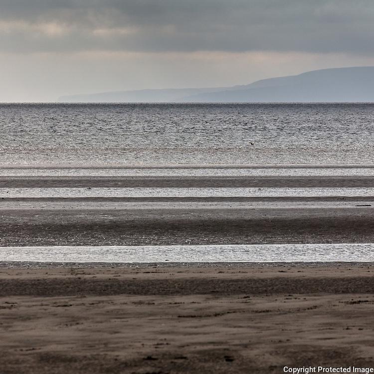 Ayr beach, Ayrshire, Scotland.