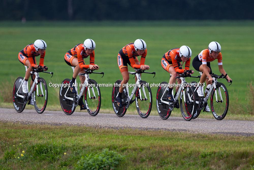 Boels Rental Ladiestour 2013 Team Time Trail Coevorden Boels-Dolmans CT