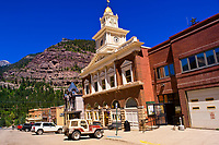 Main Street, Ouray, Colorado USA