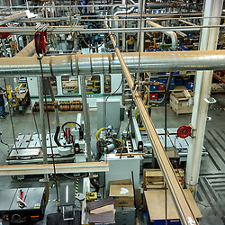 Nazareth, PA, USA - October 27, 2014:  The factory floor of the Martin Guitar Company in Nazareth, Pennsylvania, USA