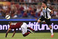 Fallo Ivan Piris Udinese, Victor Ibarbo Roma <br /> Roma 17-05-2015 Stadio Olimpico Football Calcio Serie A 2014/2015 AS Roma - Udinese . Foto Andrea Staccioli / Insidefoto