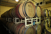 Israel, Ella Valley Winery. The Oak wood aging barrels