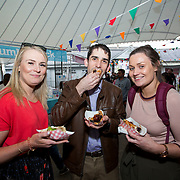 14.06.2018.             <br /> Limerick Food Group hosted the Urban Food Fest street food evening in the Milk Market on Thursday June 14th with a 'Summer Fiesta' theme in one big Limerick city summer party.<br /> <br /> Pictured at the event were, Aideen Shinnors, Ian Nora and Orla Shinnors. Picture: Alan Place