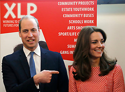 File photo dated 11/03/16 of the Duke and Duchess of Cambridge during a visit to the mentoring programme of the XLP project at London Wall. William and Kate are celebrating their ninth wedding anniversary. The PA news agency take a look at their time together over the years.