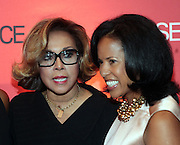 13 September 2010- New York, NY- Diahann Caroll and Michelle Ebanks at Essence Magazine's Fierce & Fabulous Awards Luncheon honoring exceptional Women who are making a difference in the world sponsored by Buick and Clinique held at The Mandarian Oriental on September 13, 2010 in New York City. Photo Credit: Terrence Jennings