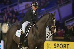 Isabel Cool, BEL, Aranco V<br /> Jumping Mechelen 2017<br /> © Sharon Vandeput<br /> 27/12/17