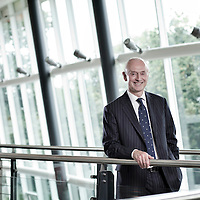 Edwin Booth of Booths supermarkets at the firms head office in Preston - for RBS Business Agenda