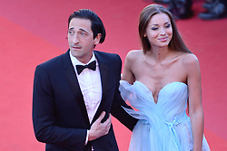 Adrian Brody and his wife Lara Lieto arriving at Les Fantomes d'Ismael screening and opening ceremony held at the Palais Des Festivals in Cannes, France on May 17, 2017, as part of the 70th Cannes Film Festival. Photo by Aurore Marechal/ABACAPRESS.COM